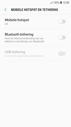 Samsung galaxy-s7-android-oreo - WiFi - Mobiele hotspot instellen - Stap 6