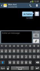 Samsung Galaxy S4 - Contact, Appels, SMS/MMS - Envoyer un SMS - Étape 11