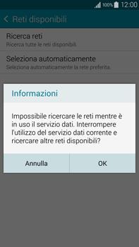 Samsung Galaxy Note 4 - Rete - Selezione manuale della rete - Fase 7