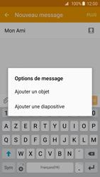 Samsung G920F Galaxy S6 - MMS - Envoi d