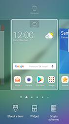 Samsung Galaxy S6 Edge - Android Nougat - Operazioni iniziali - Installazione di widget e applicazioni nella schermata iniziale - Fase 3