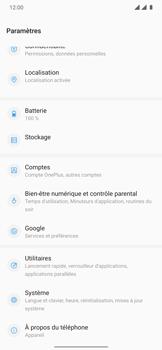 OnePlus 7T Pro - Aller plus loin - Restaurer les paramètres d'usines - Étape 4