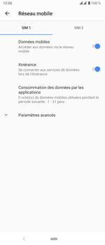 Sony Xperia 5 - Internet et roaming de données - Désactivation du roaming de données - Étape 6