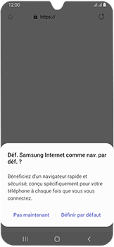 Samsung Galaxy A40 - Internet - navigation sur Internet - Étape 4