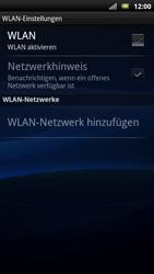 Sony Ericsson Xperia X10 - WLAN - Manuelle Konfiguration - Schritt 6