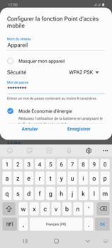Samsung Galaxy S20+ - Internet et connexion - Partager votre connexion en Wi-Fi - Étape 10