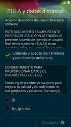 Samsung G900F Galaxy S5 - Primeros pasos - Activar el equipo - Paso 6
