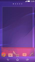 Sony Xperia Z2 - Startanleitung - Installieren von Widgets und Apps auf der Startseite - Schritt 9