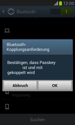 Samsung I8190 Galaxy S3 Mini - Bluetooth - Geräte koppeln - Schritt 9