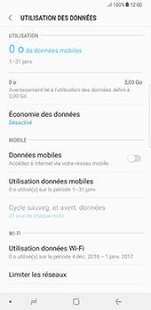 Samsung Galaxy Note 8 - Internet et connexion - Désactiver la connexion Internet - Étape 7