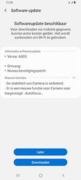 Samsung Galaxy A80 - software - update installeren zonder pc - stap 7