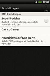 HTC Desire C - SMS - Manuelle Konfiguration - 1 / 1