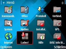 Nokia E71 - Apps - Konto anlegen und einrichten - Schritt 3