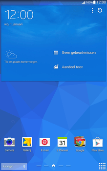 Samsung T335 Galaxy Tab 4 8-0 - Internet - Handmatig instellen - Stap 1