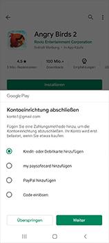 Samsung Galaxy Note 20 5G - Apps - Installieren von Apps - Schritt 18