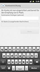 Sony Xperia S - E-Mail - Manuelle Konfiguration - Schritt 15