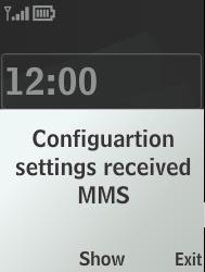 Nokia 301-1 - MMS - Automatic configuration - Step 3