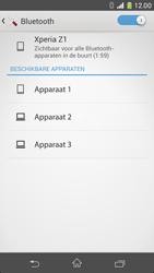 Sony D5503 Xperia Z1 Compact - bluetooth - aanzetten - stap 7
