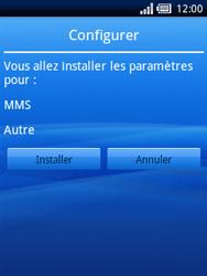 Sony Ericsson Xperia X10 Mini - MMS - configuration automatique - Étape 4