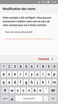 Samsung Galaxy A8 - E-mail - 032c. Email wizard - Outlook - Étape 9