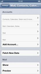Apple iPhone 5 - E-mail - manual configuration - Step 17