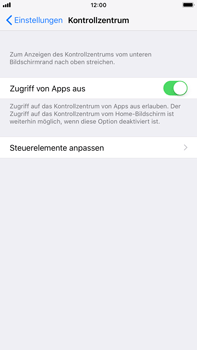 Apple iPhone 6 Plus - iOS 11 - Kontrollzentrum - 4 / 8
