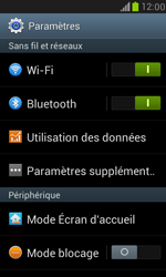 Samsung I8190 Galaxy S III Mini - Internet - Désactiver les données mobiles - Étape 4