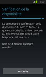 Samsung S7390 Galaxy Trend Lite - Applications - Créer un compte - Étape 10