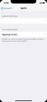 Apple iPhone X - E-mail - configurazione manuale - Fase 20