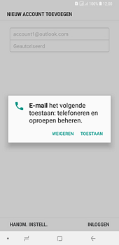 Samsung Galaxy A6 Plus - e-mail - handmatig instellen - stap 10
