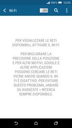 HTC One M9 - WiFi - Configurazione WiFi - Fase 5