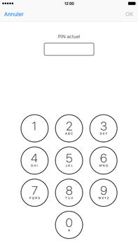 Apple iPhone 6s Plus - Sécuriser votre mobile - Personnaliser le code PIN de votre carte SIM - Étape 6