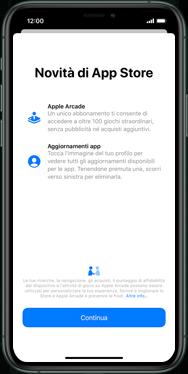 Apple iPhone 7 - iOS 13 - Applicazioni - Configurazione del negozio applicazioni - Fase 3