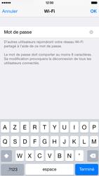Apple iPhone 6 iOS 8 - Internet et connexion - Partager votre connexion en Wi-Fi - Étape 8