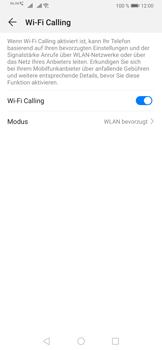 Huawei P30 Pro - WiFi - WiFi Calling aktivieren - Schritt 11