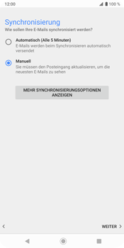 Sony Xperia XZ3 - E-Mail - Konto einrichten - Schritt 19