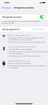 Apple iPhone XR - Internet et connexion - Utiliser le mode modem par USB - Étape 8