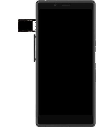 Sony Xperia L3 - SIM-Karte - Einlegen - Schritt 7