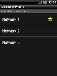 HTC A3333 Wildfire - Bellen - in het buitenland - Stap 10