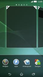 Sony Xperia Z2 - Startanleitung - Installieren von Widgets und Apps auf der Startseite - Schritt 4