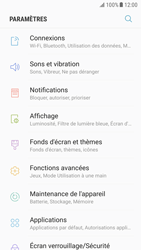 Samsung G920F Galaxy S6 - Android Nougat - Internet - Désactiver du roaming de données - Étape 4