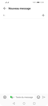 Huawei P Smart 2021 - Contact, Appels, SMS/MMS - Envoyer un SMS - Étape 4