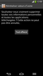 LG D955 G Flex - Téléphone mobile - Réinitialisation de la configuration d