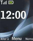 Nokia 2330 classic - Messagerie vocale - configuration manuelle - Étape 1