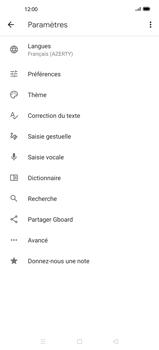 Oppo Find X2 Pro - Prise en main - Comment ajouter une langue de clavier - Étape 7