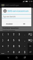HTC Desire 320 - SMS - Handmatig instellen - Stap 9