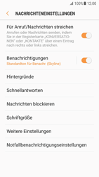 Samsung Galaxy S7 - Android Nougat - SMS - Manuelle Konfiguration - Schritt 6