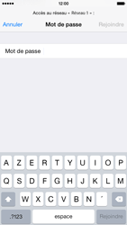Apple iPhone 6 iOS 8 - WiFi - configuration du WiFi - Étape 8