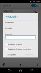 Sony Xperia Z3 - WLAN - Manuelle Konfiguration - 0 / 0