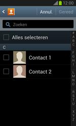 Samsung I8260 Galaxy Core - Contactgegevens overzetten - delen via Bluetooth - Stap 6